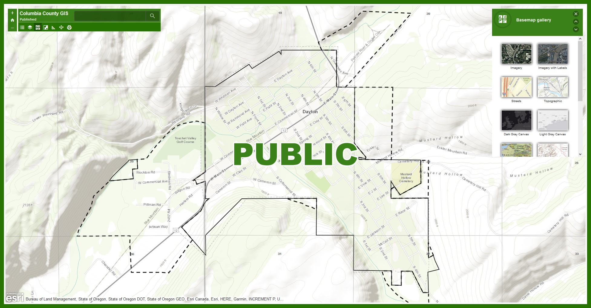 Public Map Opens in new window